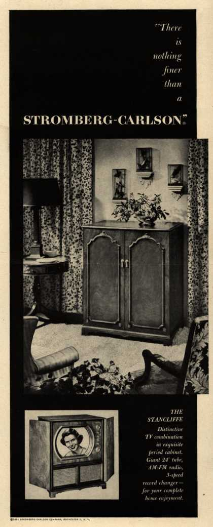 """Stromberg-Carlson Company's The Stancliffe – """"There is nothing finer than a Stromberg-Carlson"""" (1951)"""