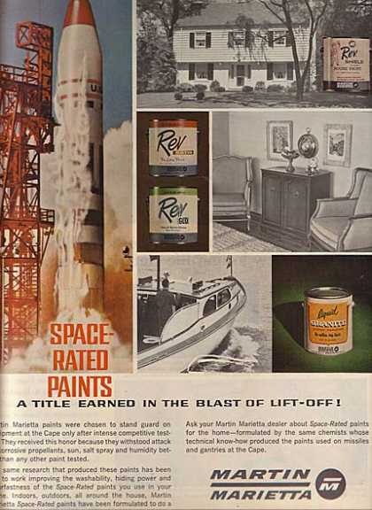 Martin Marietta's Space-Rated Paints (1963)