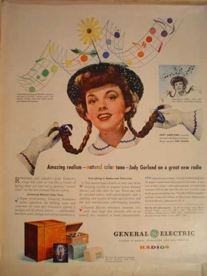 General Electric Judy Garland (1945)