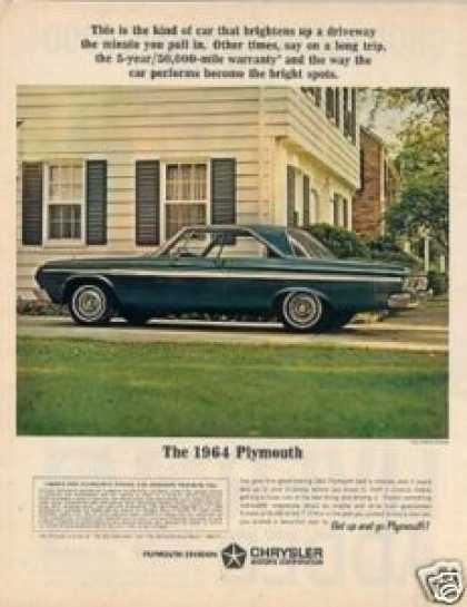 Plymouth Fury 2-door Hardtop Car (1964)
