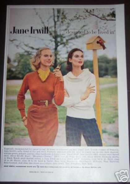 Original Jane Irwill Womans Retro Fashion (1955)