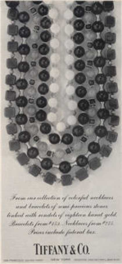 Tiffany & Co Semi Precious Stone Necklace (1964)