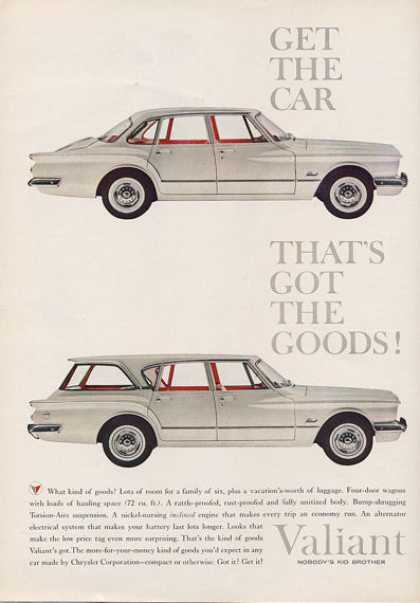 Chrysler Valiant Station Wagon (1960)