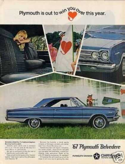 Plymouth Belvedere Car (1967)