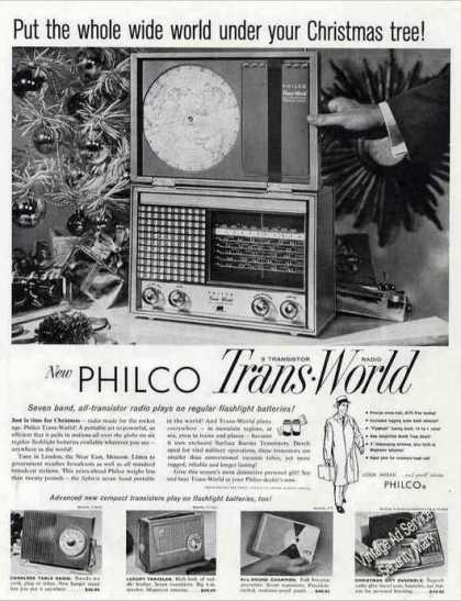 Philco Trans-world All-transistor Radio (1957)