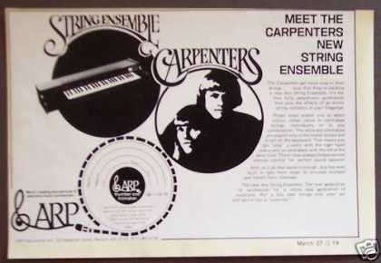 The Carpenters Arp String Ensemble Synthesizer (1975)