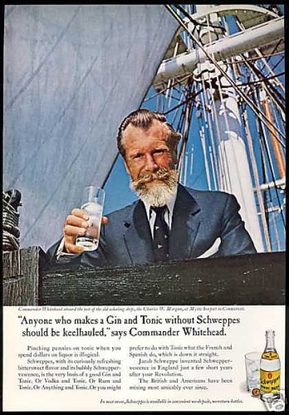 Schweppes Whitehead Connecticut Whaling Ship (1967)