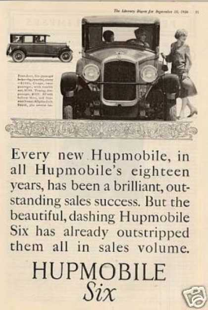 Hupmobile Six Car (1926)