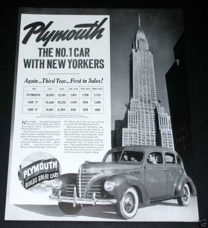 Plymouth, No. 1, New Yorkers (1939)