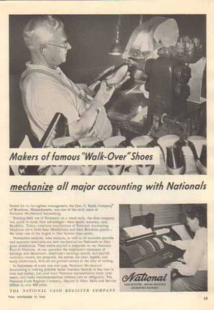 National Cash Register – Keith Shoe Company (1952)