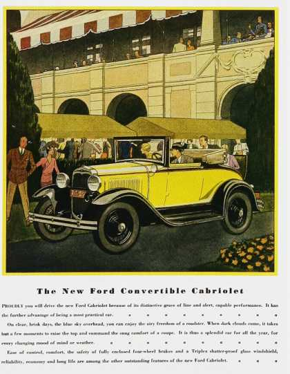 Ford Convertible Chevrolet