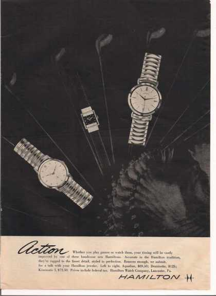 Hamilton Men and Womens Watch (1957)