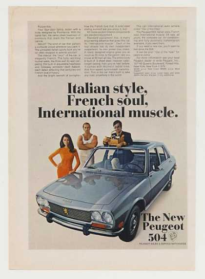 Peugeot 504 Italian Style French Soul Muscle (1970)