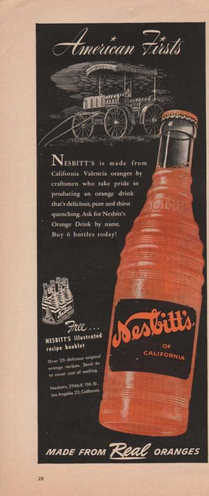 Nesbitts of California Soda (1949)