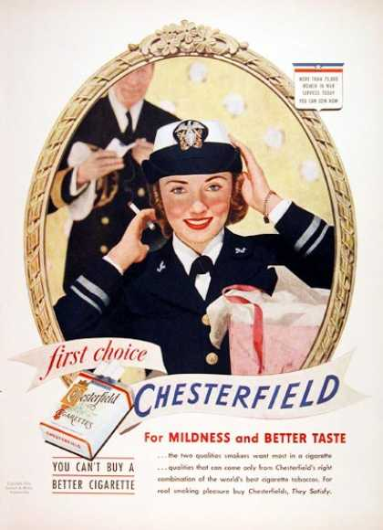 Cheserfield Cigarettes #2 (1943)