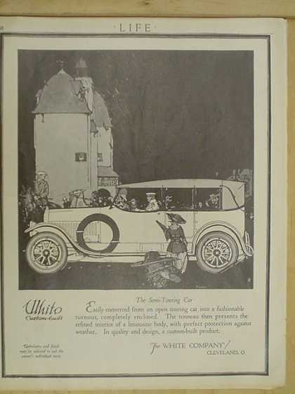 White Custom Built Autos Cleveland Ohio (1916)