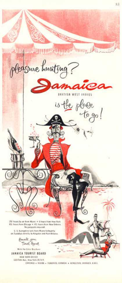 Jamaica Tourist Board Pirate (1956)