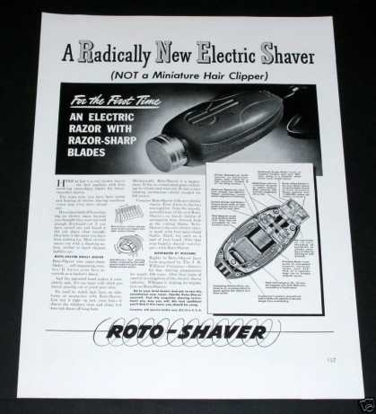 Old , Roto-shave (1939)