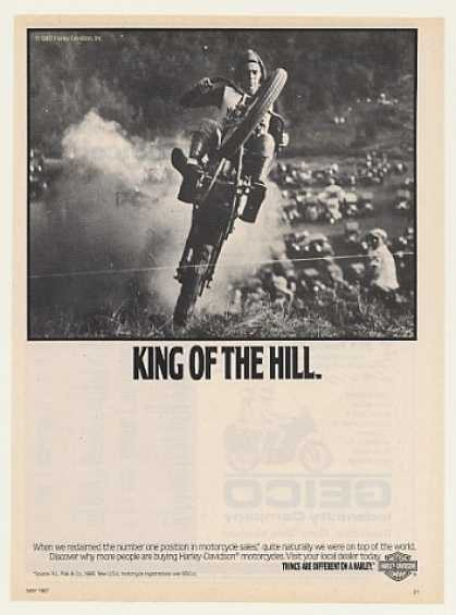 Harley-Davidson Motorcycle King of the Hill (1987)