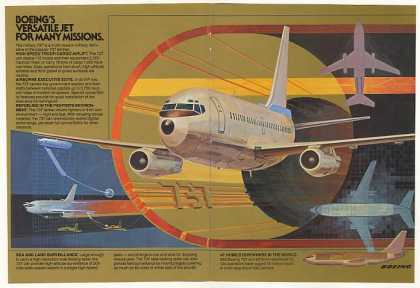 Boeing Military 737 Jet Aircraft (1983)