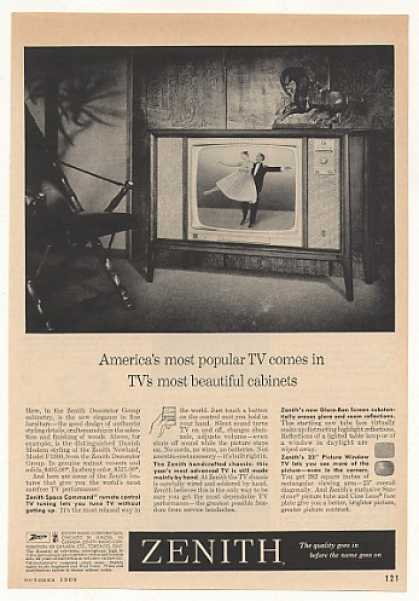 Zenith Newland F3360 Decorator Group TV (1960)