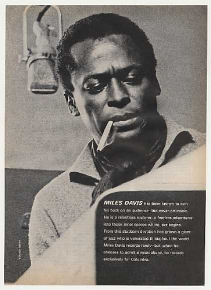 Miles Davis Columbia Records Photo (1961)