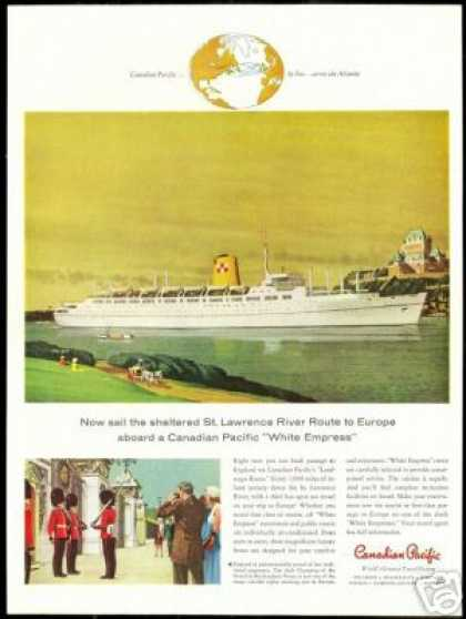 Canadian Pacific Cruise Ship White Empress (1958)