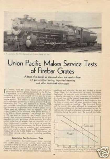 """Up Makes Service Tests of Firebar Grates"" (1933)"