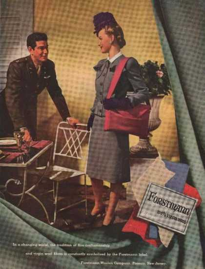 Forstmann Virgin Wool Ladies Suit (1944)