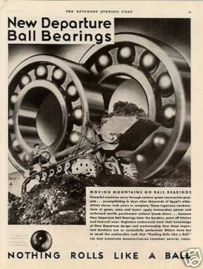 New Departure Ball Bearings (1931)