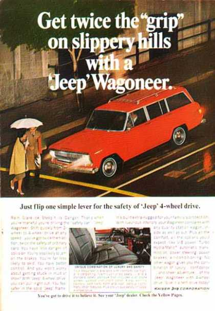 Jeep Car – Wagoneer – Red (1967)
