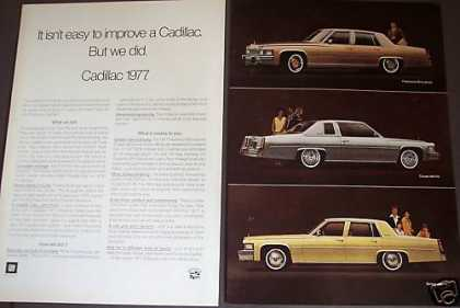 Cadillac for 77 Fleetwood, Coupe/sedan Deville (1976)