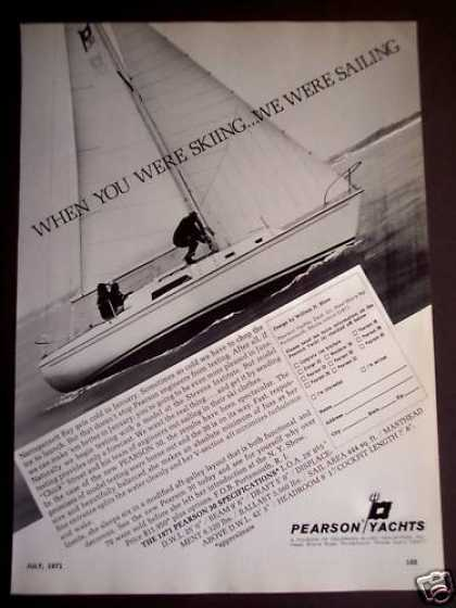 Pearson 30 Yachts Boating (1971)