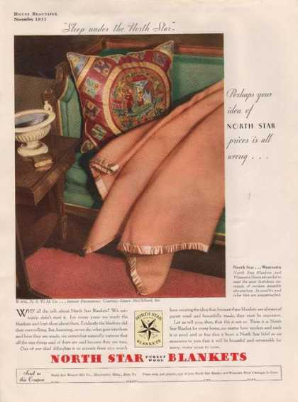North Star Purest Wool Blanket (1931)