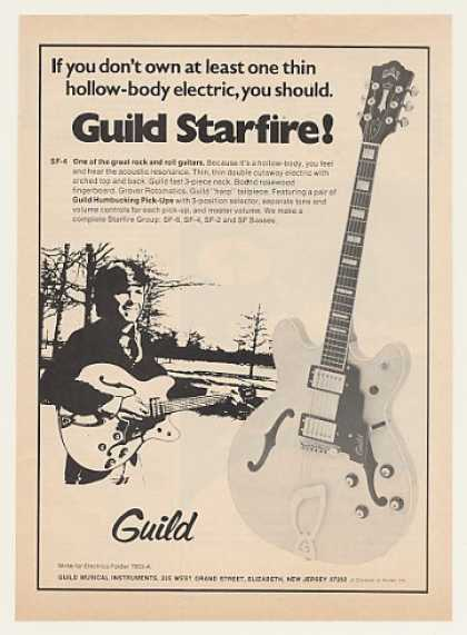 Guild Starfire SF-4 Electric Guitar (1974)