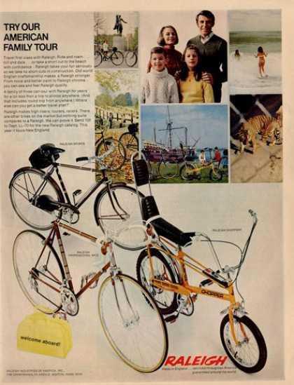 Raleigh Bicycle Bike Chopper Mkii Ad T (1970)