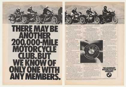 BMW 200,000 Mile Motorcycle Club (1982)
