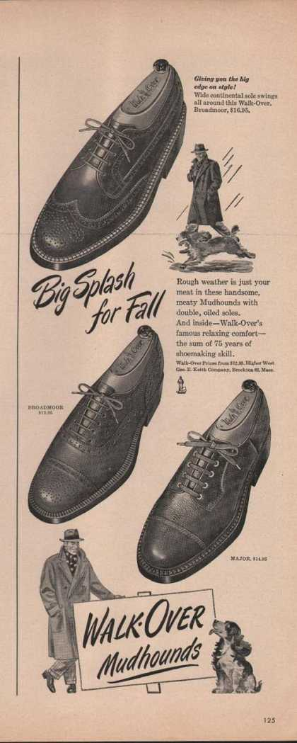Walk Over Mudhound Mens Shoes (1949)