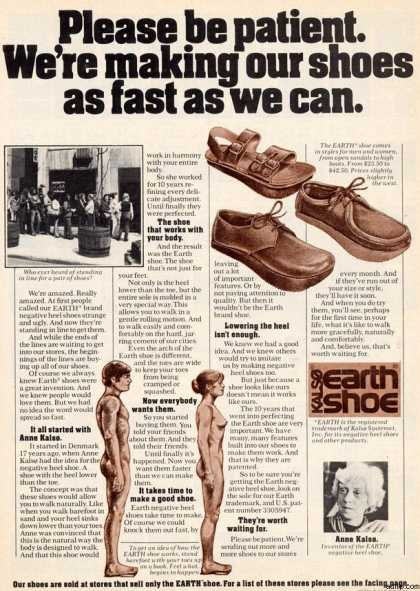 Kalso's Earth Shoe (1974)