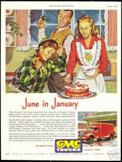 Strawberry Shortcake Art GMC Trucks (1947)
