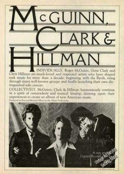 Mcguinn, Clark & Hillman Photo Album (1979)