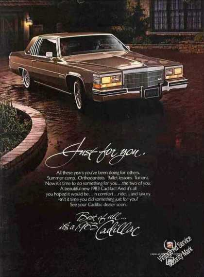 "Cadillac ""Just for You – Best of All"" (1983)"