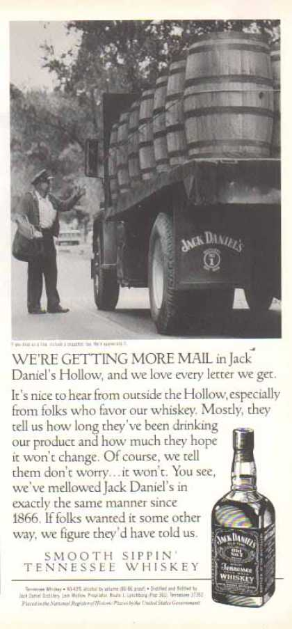 Jack Daniel's – We're Getting More Mail (1991)