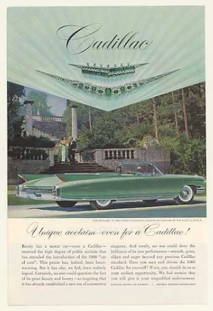 Green Cadillac Eldorado Convertible Emeralds (1960)