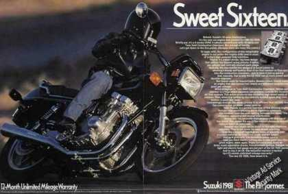 "Suzuki Gs-750e ""16-valve Masterpiece"" Motorcycle (1981)"