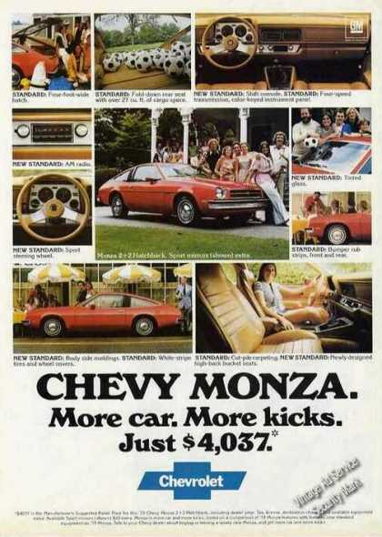 Chevy Monza More Car. More Kicks. Car (1979)