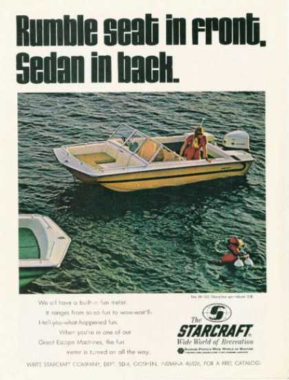 Starcraft Tr-150 Sportabout Diving Boat (1970)