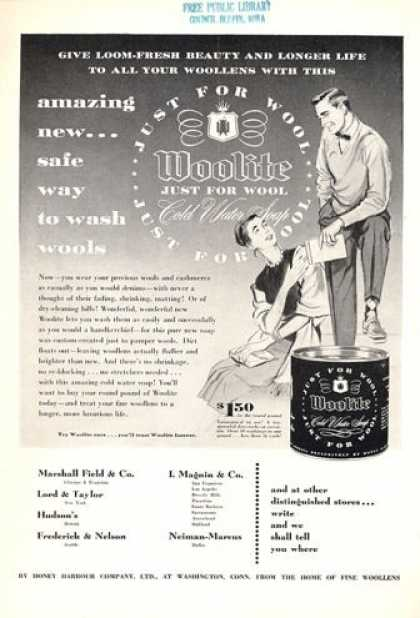 Woolite Can (1953)