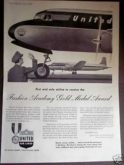 United Airlines Fashion Academy Award (1950)