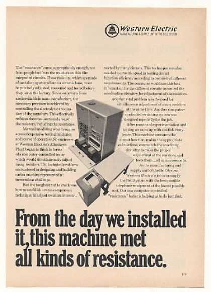 Western Electric Computer Resistor Tester (1969)